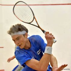 Here is a great example of the diamond position on the backhand side as Cameron prepares to drive the ball out of the deep backhand.   Notice how the elbow, wrist, racket head and shoulder create a diamond shape at the start of the swing.
