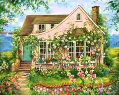 I want a little cottage like this one!