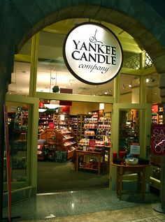 I love to find a Yankee Candle shop : ) even though the smells are way too much for me I love the accessories and I refill there jars with pure bees wax