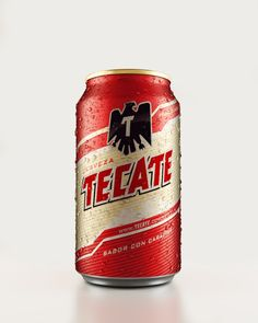 3D Tecate Beer Cans on Digital Art Served