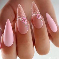 Chic Nails, Stylish Nails, Trendy Nails, Nagellack Design, Nagellack Trends, Nail Art Designs Videos, Nail Art Videos, Luxury Nails, Elegant Nails