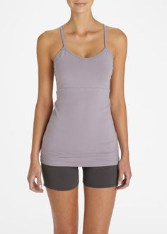 T-Back Rouched Tank