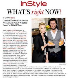 InStyle.com: Charlize Theron's Pre-Oscars Prep!