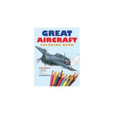 Great Aircraft Coloring Book (Paperback)