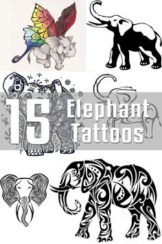 15 Elephant Tattoo Designs | The Body is a Canvas