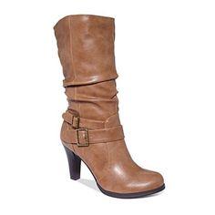 "Style & Co """"Mickay"""" Heeled Mid Calf Boot"