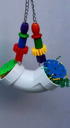 PVC Refillable Foraging U – LOD Bird Toys, Jolly Balls and Playstands – decorideas Diy Parrot Toys, Diy Bird Toys, Sugar Glider Cage, Sugar Gliders, Homemade Bird Toys, Parrot Play Stand, Parrot Rescue, Tree Tat, Wild Birds Unlimited
