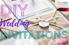 Wedding invitations are expensive... to BUY. So why not make your own to save money for your wedding budget? Here are some tips & tools for DIY wedding invitations to get you started! #diywedding #weddingbudget #weddinginvitations #weddingdiy