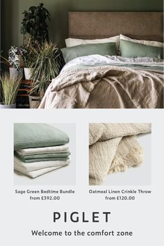 Our Bedtime Bundle includes a duvet cover, pair of matching pillowcases, additional pair of white pillowcases, a white fitted sheet and a white flat sheet. Bedroom Loft, Bedroom Inspo, Home Bedroom, Room Decor Bedroom, Master Bedroom, Bedroom Ideas, Home Room Design, Interior Design Living Room, Design Kitchen