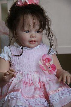 ~~~reborn toddler vinyl doll *Katie Marie* by Gail Carey of *newdawnnursery*~~~