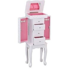 Jewelry Box For Girls Armoire Hello Kitty Musical Storage Drawer