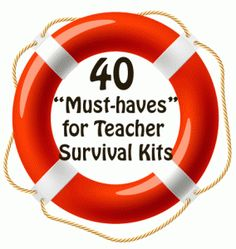 Don't go back to school without these! 40 Things You Must Have in Your School Survival Kit!