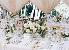 Cheap Wedding Table Centerpiece Ideas - Put the Ring on It Wedding Reception Planning, Romantic Wedding Receptions, Wedding Venue Decorations, Wedding Table Centerpieces, Flower Centerpieces, Elegant Wedding, Floral Wedding, Wedding Flowers, Wedding Ideas