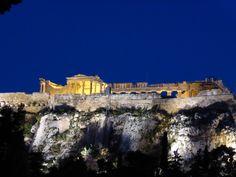 Parthenon at sunset, Athens