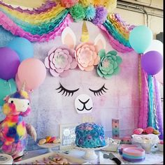 Quinceanera Party Planning – 5 Secrets For Having The Best Mexican Birthday Party Llama Birthday, 1st Birthday Girls, Unicorn Birthday Parties, 10th Birthday, Unicorn Party, First Birthday Parties, Birthday Party Decorations, First Birthdays, Party Favors