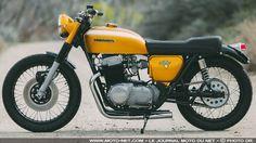 Prépa moto : la Honda CB750 Golden Goose par Rawhide Cycles