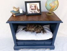 Make a Puppy Bed in an Old Dresser!  45 Essential Dog Care Hacks That Will Make Their Owner's Life Easier