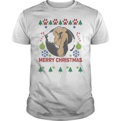 Basset Hound Dog Breed Ugly Christmas Sweater Shirt Dog breed owners already have the perfect dog so now they need the perfect tshirt  Ugly Christmas Sweaters dog breed shirts make great gifts for family friends or yourself