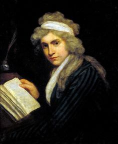 Portrait of Mary by John Opie, c. Kickass Women In History: Mary Wollstonecraft (pinned William Blake, Art Romantique, Norway Places To Visit, William Godwin, Famous Historical Figures, Tate Gallery, Tate Britain, Mary Shelley, Woman Reading
