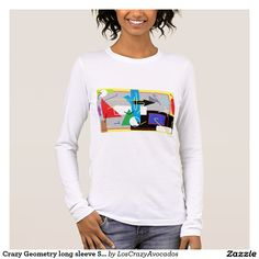 Crazy Geometry long sleeve Shirt