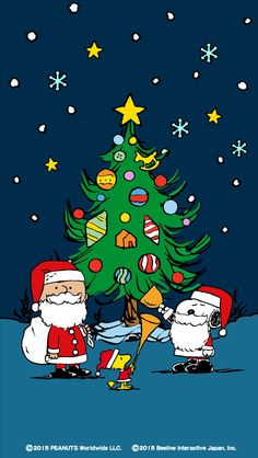 Charlie Brown, Snoopy und Woodstock - Charlie Brown, Snoopy, and Woodstock - Weihnachten Peanuts Christmas, Charlie Brown Christmas, Charlie Brown And Snoopy, Christmas Humor, Merry Christmas, Christmas Feeling, Christmas Time, Xmas Wallpaper, Christmas Phone Wallpaper