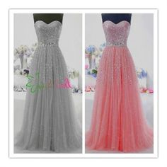 Long Tulle Prom Dresses Quinceanera Ball Gowns Sweet Sixteen Formal Party Dress @Crystal Chou Quinones