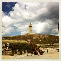 Spain, Galicia, A Coruña, Hercules Tower