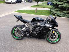 My 2009 Kawasaki Ninja ZX6R ZX6-R ZX6 Honda CBR Suzuki GSXR Yamaha R6 R1 675R 600RR 600CC Ducati Panigale 1199R 899R GSX-R Superbike Sportbike Crotchrocket 1000RR 1000CC BMW S1000 S1000RR