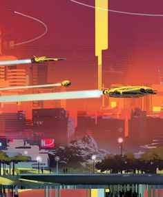 SPARTH - Monolith Park. personal work. 2015 second piece is...