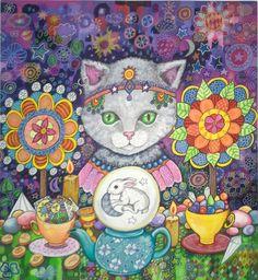 Amazing artist lynda bell painting