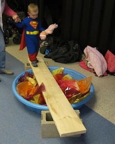 Keeping Up with Kids: IFLS Youth Services: Preschool Superhero Party in Eau Claire