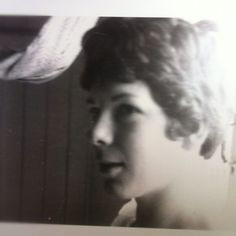 """#hairphotoaday 12. My mum's hair when she was young"""