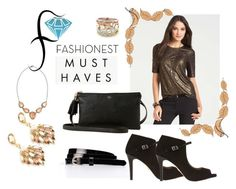 """""""Trendy Jewelry from Fashionest"""" by gabriele-bernhard ❤ liked on Polyvore featuring Ann Taylor and fashionest"""