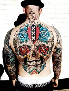 #tattoo #ink #skull