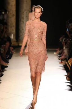 Another Elie Saab's dress from Winter Collection 2013