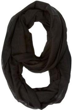 Dylan Infinity Scarf - Black Gena Accessories. $22.95