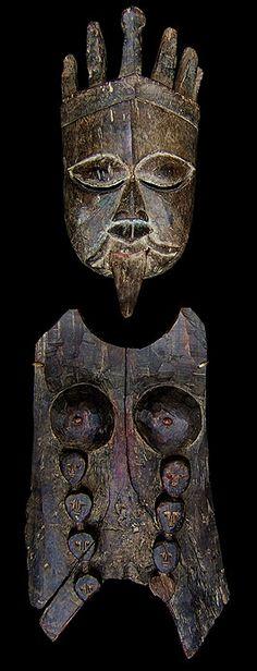 Himalayan Mercantile - Masks from Southern Nepal Wood Bark, Spirit World, Himalayan, Wood Design, Rock Art, Nepal, Southern, Voodoo, Medicine