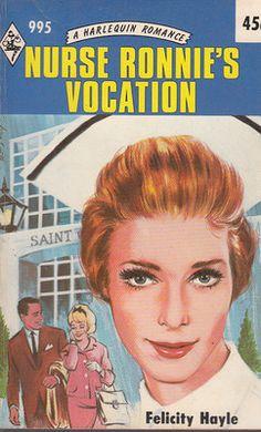 Hayle Felicity Nurse Ronnie's Vocation Harlequin Romance 995