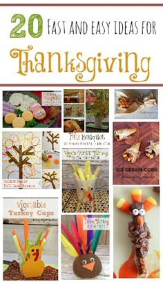 Its just around the corner! Thanksgiving recipe, crafts, DIY, snacks, printables and more. Everything you need for Thanksgiving for kids