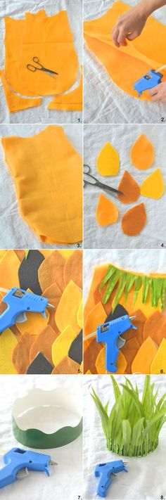 DIY no-sew Pineapple Costume | Camille Styles                                                                                                                                                                                 More
