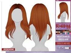 Coupure Electrique: Nightcrawler`s Breeze Hair Retextured - kids and toddlers version - Sims 4 Hairs - http://sims4hairs.com/coupure-electrique-nightcrawlers-breeze-hair-retextured-kids-and-toddlers-version/