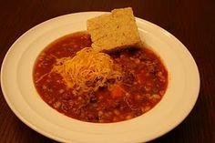 Hamburger Soup from Erin's Corner Cupboard blog Hamburger Soup, Corner Cupboard, Rich Recipe, Soups And Stews, Thai Red Curry, Veggies, Ethnic Recipes, Blog, Corner Medicine Cabinet