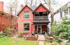 Brick Victorian in Denver Colorado
