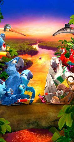 Cartoon Cartoon, Rio, Adventure, Painting, Painting Art, Paintings, Adventure Movies, Adventure Books, Painted Canvas
