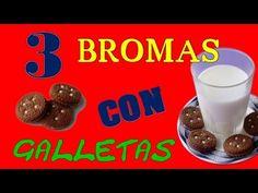 3 | BROMAS | CON GALLETAS | LAS MEJORES BROMAS 2014 | TVOAQUI - YouTube  Pranks, Prank, Best Pranks, Funny Videos, Funny, Pranks
