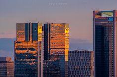 Sundown in Frankfurt,Germany