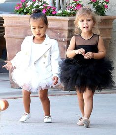 North West With Penelope Disick