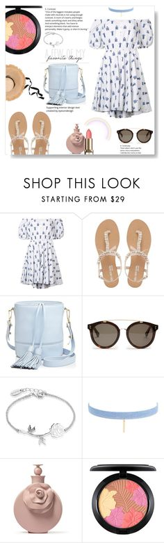 """A few of my favorite things"" by pengy-vanou on Polyvore featuring Caroline Constas, Head Over Heels by Dune, Milly, STELLA McCARTNEY, Disney, Jules Smith and MAC Cosmetics"