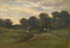 Vincent van Gogh - Cows in the Meadow, 1883