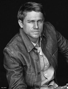 My husband Charlie Hunnam aka Jax Teller. Absolutely gorgeous. I don't think I have ever seen him look this good. Wait, he was naked a few times in SOA. Never mind :)
